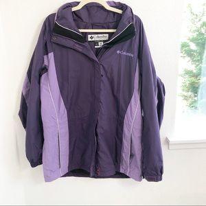 Columbia Women's Purple Interchange Jacket